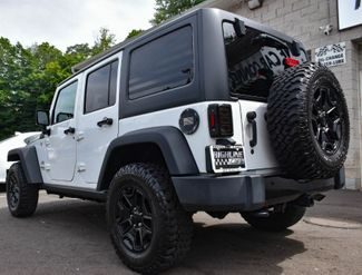 2017 Jeep Wrangler Unlimited Willys Wheeler Waterbury, Connecticut 3