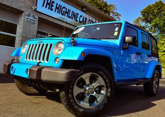 2017 Jeep Wrangler Unlimited Sahara Waterbury, Connecticut 13