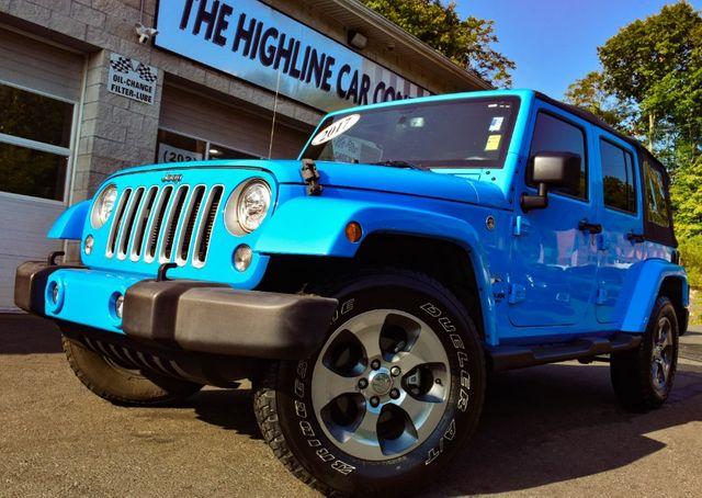 2017 Jeep Wrangler Unlimited Sahara Waterbury, Connecticut 11