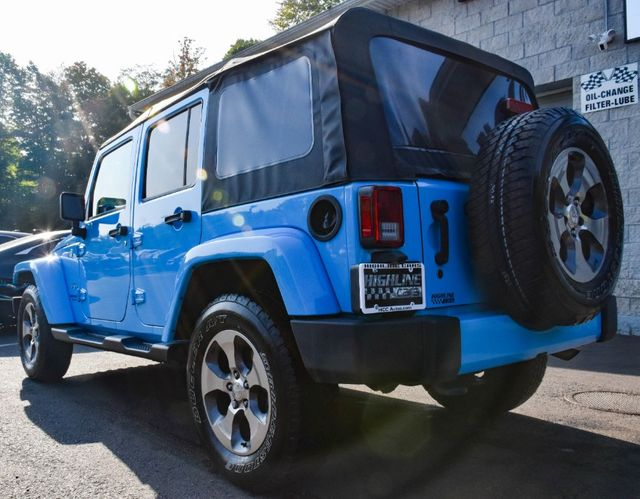 2017 Jeep Wrangler Unlimited Sahara Waterbury, Connecticut 4