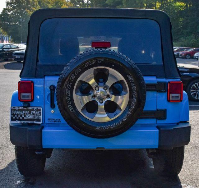 2017 Jeep Wrangler Unlimited Sahara Waterbury, Connecticut 5