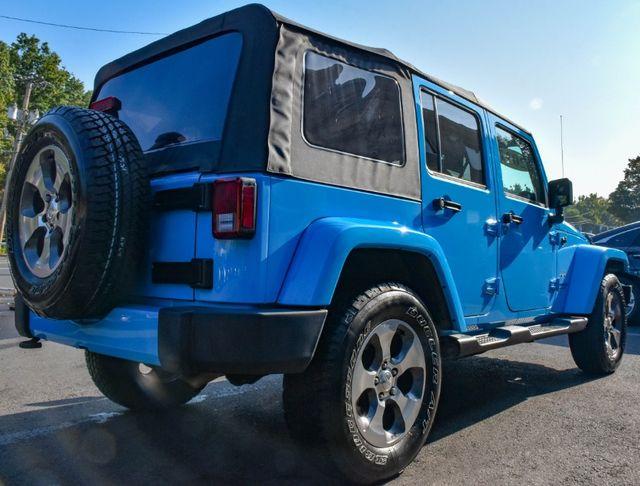 2017 Jeep Wrangler Unlimited Sahara Waterbury, Connecticut 6