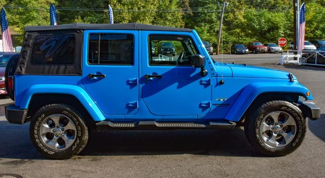 2017 Jeep Wrangler Unlimited Sahara Waterbury, Connecticut 7