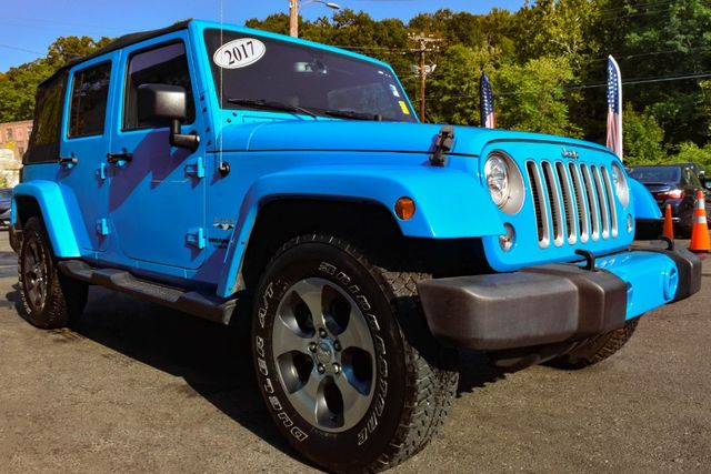 2017 Jeep Wrangler Unlimited Sahara Waterbury, Connecticut 8