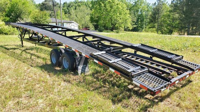 2017 Kaufman 50 ft. + 6 ft. Tandem Dual Wedge Car Trailer - 18K GVWR - Model FW-10K-56S in Cullman, AL 35055