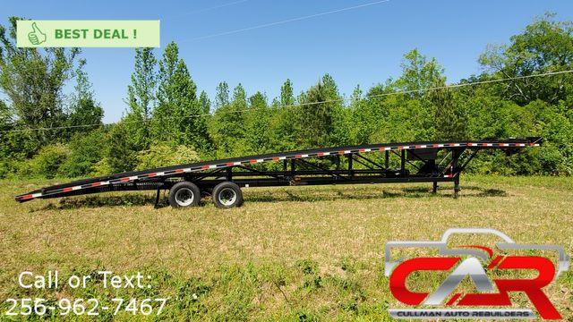 2017 Kaufman 50 ft. + 6 ft. Tandem Dual Wedge Car Trailer - 18K GVWR - Model FW-10K-56S