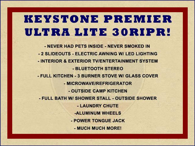 2017 Keystone Premier Ultra Lite 30RIPR Mooresville , NC 1