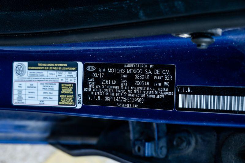2017 Kia Forte 2.0l 4-Cyliner LX Pwr Windows 1-Owner Clean Carfax in Rowlett, Texas