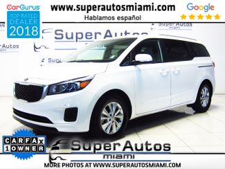 2017 Kia Sedona LX with Premium Package in Doral, FL 33166
