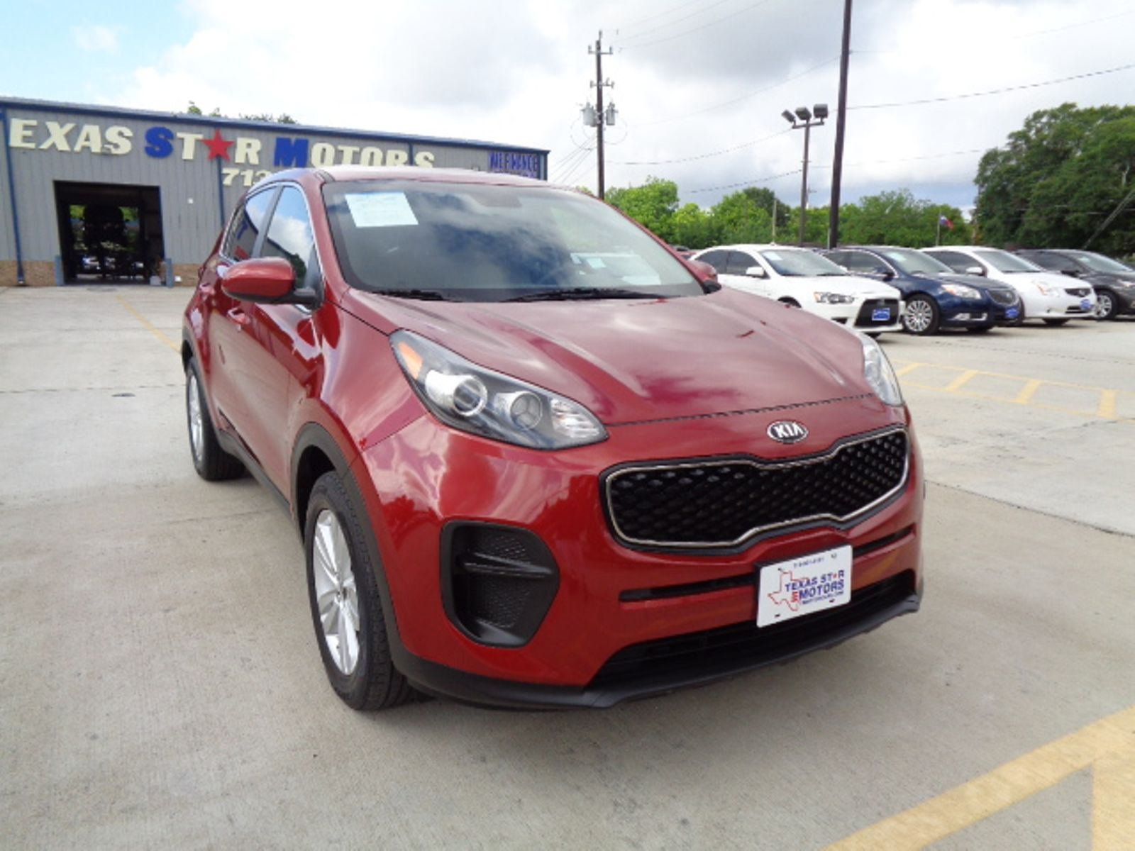 Star Motors Houston >> 2017 Kia Sportage Lx City Tx Texas Star Motors