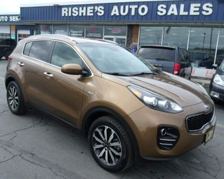 2017 Kia Sportage EX | Rishe's Import Center in Ogdensburg  NY