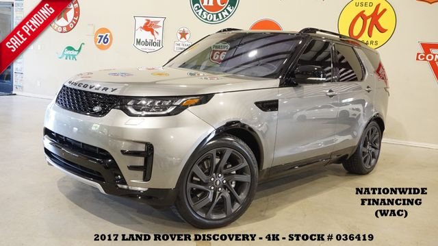 2017 Land Rover Discovery HSE HUD,PANO ROOF,NAV,360 CAM,HTD LTH,21'S,4K!