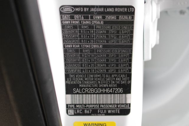 2017 Land Rover Discovery Sport HSE 4WD - NAV - PANO ROOF - BLIND SPOT! Mooresville , NC 74