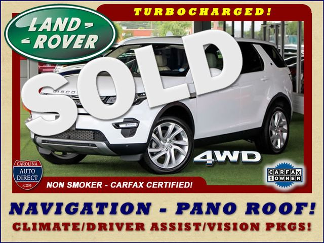 2017 Land Rover Discovery Sport HSE 4WD - NAV - PANO ROOF - BLIND SPOT! Mooresville , NC 0