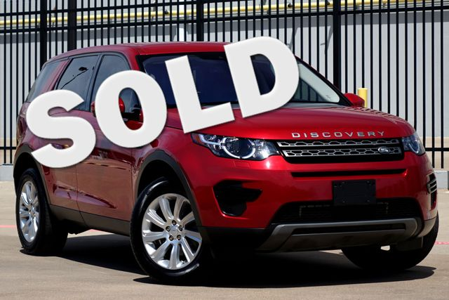 2017 Land Rover Discovery Sport Meridian * NAV * Climate Comfort Pkg * LANE DEPART Plano, Texas
