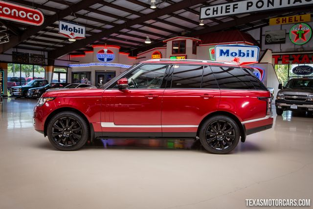 2017 Land Rover Range Rover Supercharged 4X4 in Addison Texas, 75001