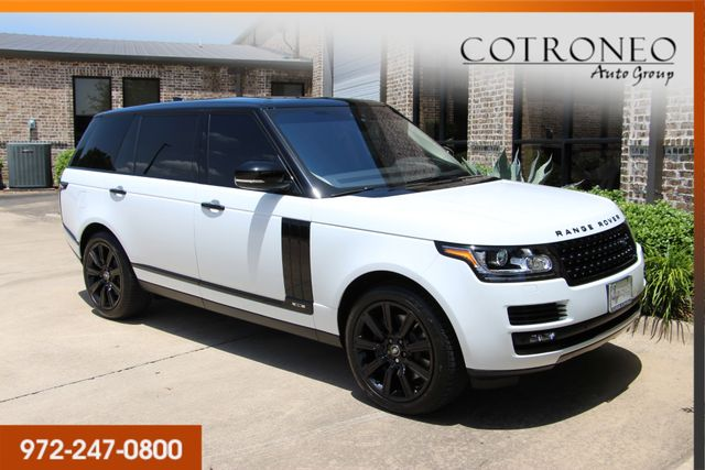 2017 Land Rover Range Rover Supercharged LWB in Addison, TX 75001