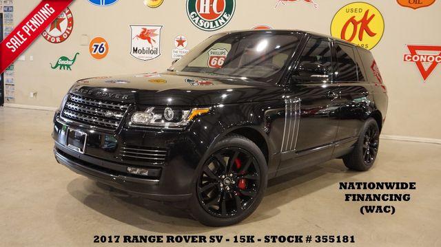 2017 Land Rover Range Rover SV Autobiography Dynamic MSRP 172K,15K