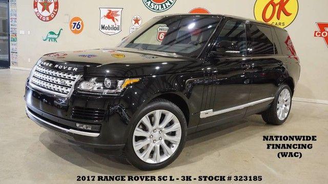2017 Land Rover Range Rover LWB MSRP 115K,PANO ROOF,360 CAM,HTD/COOL LTH,3K!