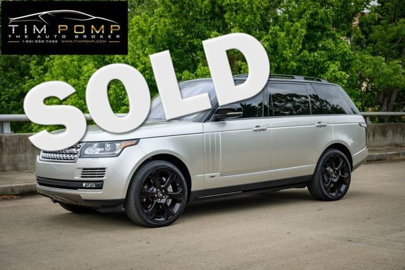 2017 Land Rover Range Rover V8 SUPERCHARGED LWB | Memphis, Tennessee | Tim Pomp - The Auto Broker in Memphis Tennessee