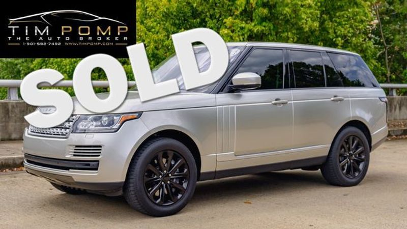 2017 Land Rover Range Rover HSE | Memphis, Tennessee | Tim Pomp - The Auto Broker in Memphis Tennessee