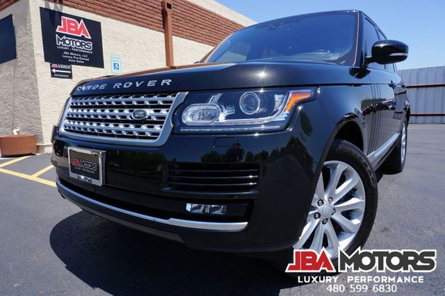 2017 Land Rover Range Rover HSE Full Size Supercharged 4WD SUV