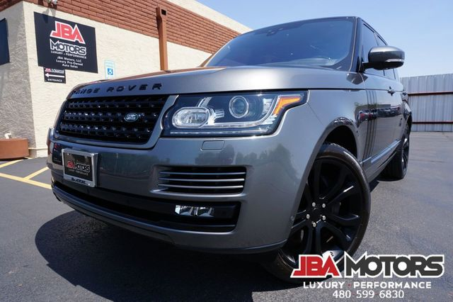 2017 Land Rover Range Rover HSE Full Size 4WD SUV Supercharged