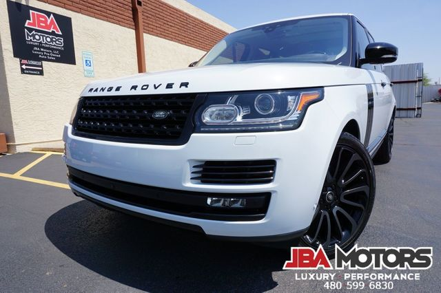 2017 Land Rover Range Rover HSE Full Size