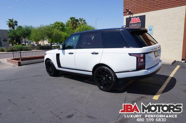 2017 Land Rover Range Rover Supercharged V8 SC Full Size 4WD Black Design Pkg in Mesa, AZ 85202