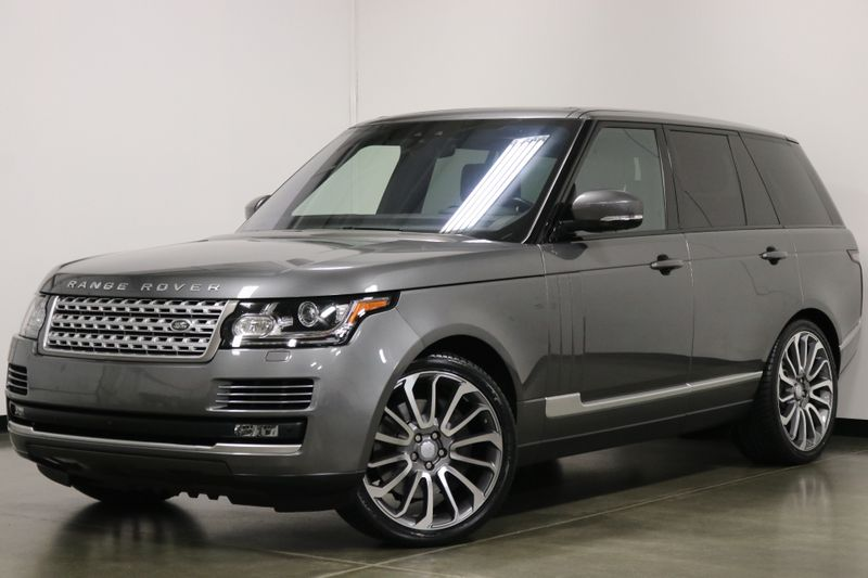 2017 Land Rover Range Rover Supercharged  city NC  The Group NC  in Mansfield, NC