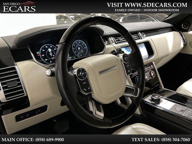 2017 Land Rover Range Rover HSE in San Diego, CA 92126