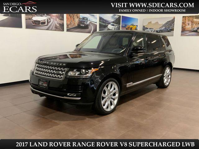 2017 Land Rover Range Rover LWB V8 Supercharged