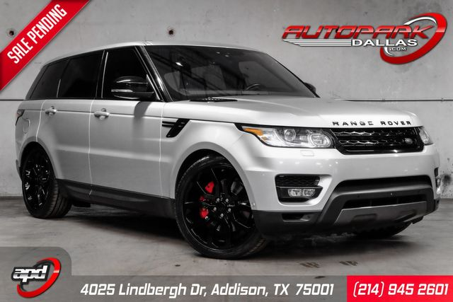 2017 Land Rover Range Rover Sport Dynamic 95k MSRP w/ Drive Pro Pkg in Addison, TX 75001