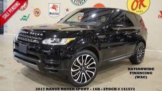 2017 Land Rover Range Rover Sport SE NAV,BACK-UP CAM,LEATHER,22'S,16K! in Carrollton TX, 75006