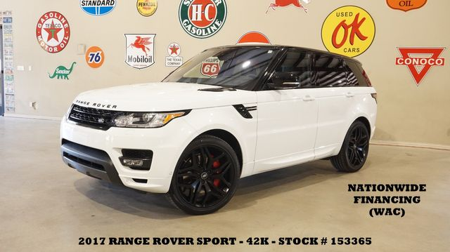 2017 Land Rover Range Rover Sport HSE Dynamic ROOF,HUD,360CAM,22'S,42K