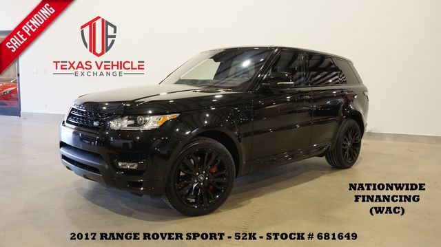 2017 Land Rover Range Rover Sport HSE Dynamic ROOF,HTD/COOL LTH,21'S,52K
