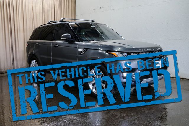 2017 Land Rover Range Rover Sport HSE Td6 4x4 Clean Diesel SUV w/Nav, Heated/Cooled Seats and Panoramic Moonroof