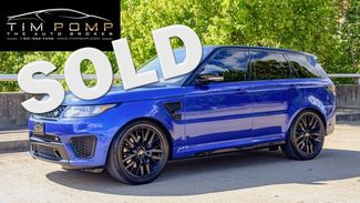 2017 Land Rover Range Rover Sport SVR   Memphis, Tennessee   Tim Pomp - The Auto Broker in  Tennessee