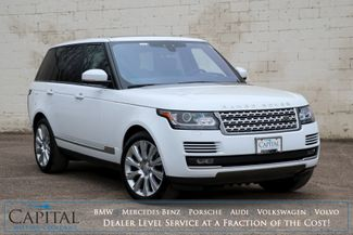 """2017 Land Rover Range Rover Supercharged 4x4 SUV w/510hp V8, NAV, Heated/Cooled Front & Rear Seats & 21"""" Wheels in Eau Claire, Wisconsin 54703"""