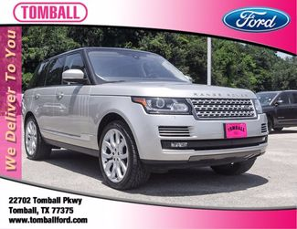 2017 Land Rover Range Rover HSE in Tomball, TX 77375