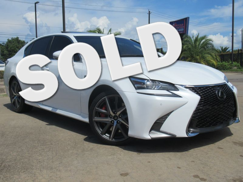 2017 Lexus GS 350 F Sport  | Houston, TX | American Auto Centers in Houston TX