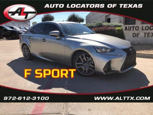2017 Lexus IS Turbo F SPORT in Plano, TX 75093