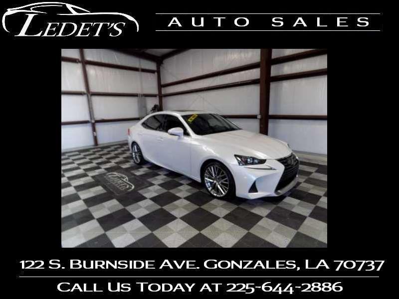2017 Lexus IS Turbo  - Ledet's Auto Sales Gonzales_state_zip in Gonzales Louisiana