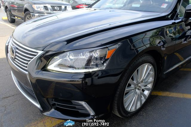 2017 Lexus LS 460 L sticker price new was $89,000 in Memphis, Tennessee 38115