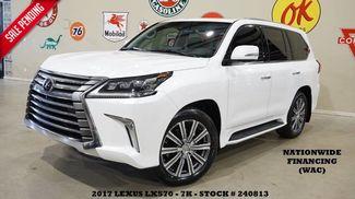 2017 Lexus LX 570 MSRP 99K,HUD,ROOF,NAV,REAR DVD,MARK LEVINSON,21... in Carrollton TX, 75006