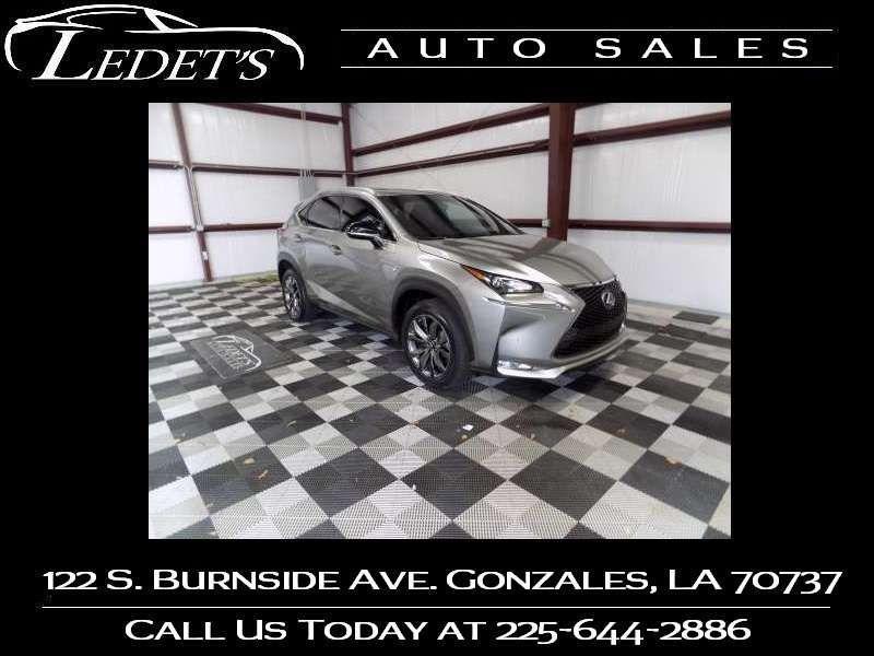 2017 Lexus NX Turbo F Sport  - Ledet's Auto Sales Gonzales_state_zip in Gonzales Louisiana