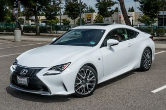 2017 Lexus RC Turbo F Sport White on Red in Reseda, CA, CA 91335