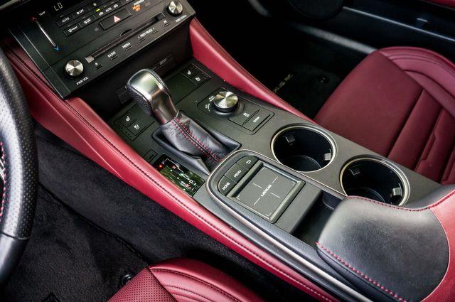 2017 Lexus RC Turbo F Sport White on Red in Reseda, CA, CA 91335