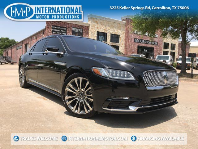 2017 Lincoln Continental Reserve ONE OWNER