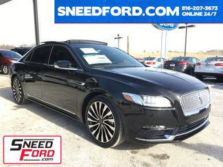 2017 Lincoln Continental Black Label AWD 2.7L V6 in Gower Missouri, 64454